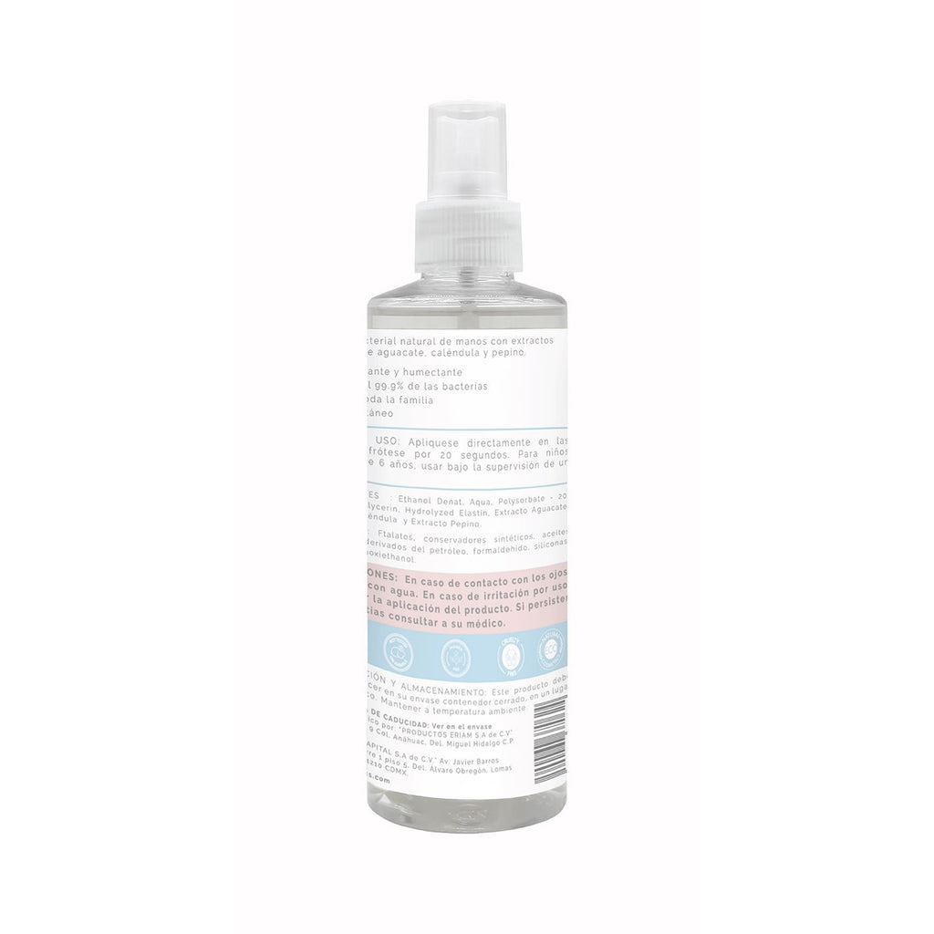 SPRAY ANTIBACTERIAL LAVANDA-VAINILLA 250ML