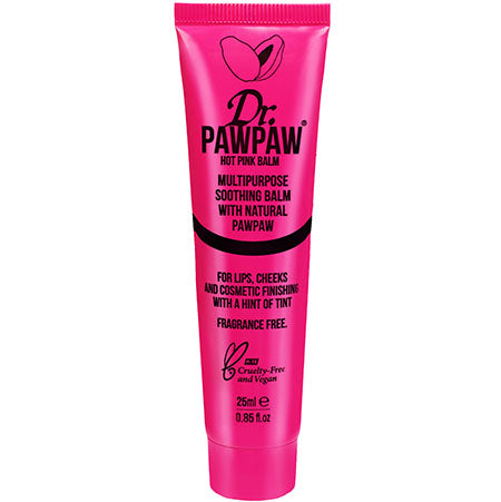 BALM HOT PINK - BÁLSAMO PARA LABIOS COLOR ROSA ELÉCTRICO 25ML