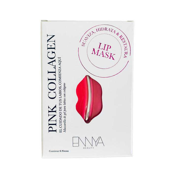 LIP MASK PINK COLLAGEN- CONTENIDO 6 PARES