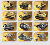 1061Pcs Military Technic Iron Empire Tank Building Blocks Sets Weapon War Chariot Creator Army WW2 Soldiers DIY Bricks Kids Toys - YouCanGetGifts Store