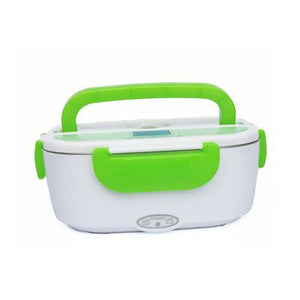 12V 110V/220V Portable Electric Heating Stainless Steel Lunch Box Home Car Dual Use Rice Box Food Warmer Dinnerware Set - YouCanGetGifts Store