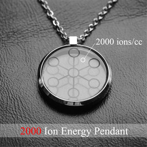 2000CC High Ion Bio Chi~ Quantum Pendant Scalar Energy With Stainless Steel Pendant Chain Free Shipping New - YouCanGetGifts Store