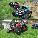 391pcs Technic RC Tracked Stunt Racer APP Remote Control Building Blocks Vehicle Creator Car Bricks DIY Toys Gifts For Children - YouCanGetGifts Store