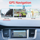 9218S Upgraded 2 DIN Android 9.1 Radio Double Car Stereo GPS Navigation Bluetooth WiFi USB Radio Head Unit Driving Speed Display - YouCanGetGifts Store