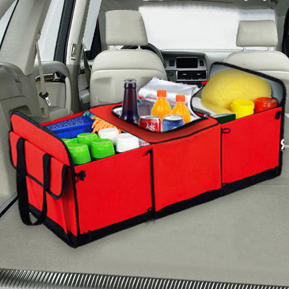 Universal Car Storage Organizer Trunk Collapsible Toys Food Storage Truck Cargo Container Bags Box Black Car Stowing Tidying New - YouCanGetGifts Store