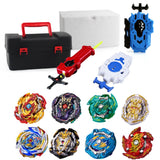 Top Beyblade Burst Bey Blade Toy Metal Funsion Bayblade Set Storage Box With Handle Launcher Plastic Box Toys For Children - YouCanGetGifts Store