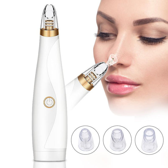 Blackhead Remover Face Deep Pore Cleaner Removal Vacuum Suction Facial SPA Diamond Beauty Care Tool Skin Care - YouCanGetGifts Store