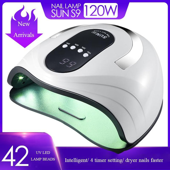 Brand New 86W UV Lamp Nail Dryer Pro UV LED Gel Nail Lamp Fast Curing Gel Polish Ice Lamp for Nail Manicure Machine - YouCanGetGifts Store