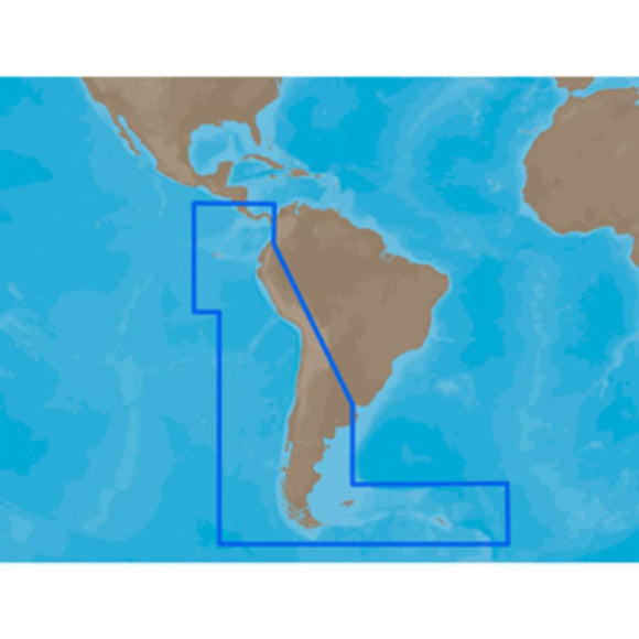 C-MAP MAX SA-M500 - Costa Rica-Chile-Falklands - C-Card - YouCanGetGifts Store