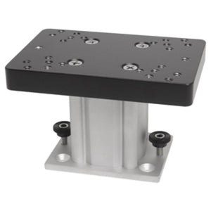 "Cannon Aluminum Fixed Base Downrigger Pedestal - 4"" - YouCanGetGifts Store"