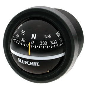 Ritchie V-57.2 Explorer Compass - Dash Mount - Black