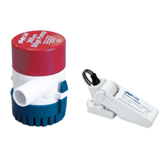 Rule 360 G.P.H. Bilge Pump w/Rule-A-Matic Float Switch