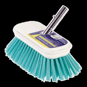 "Swobbit 7.5"" Stiff Brush - Blue"
