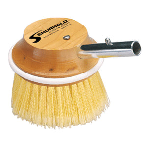 "Shurhold 5"" Round Polystyrene Soft Brush f/ Windows, Hulls, and Wheels"
