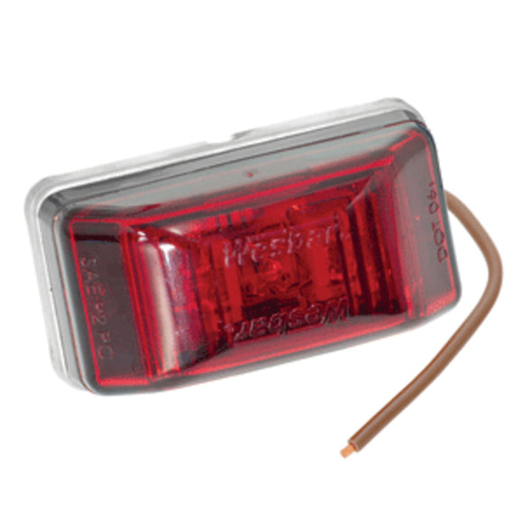 Wesbar LED Clearance-Side Marker Light #99 Series - Red