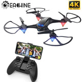 Eachine E38 WiFi FPV RC Drone 4K Camera Optical Flow 1080P HD Dual Camera Aerial Video RC Quadcopter Aircraft Quadrocopter Toys - YouCanGetGifts Store