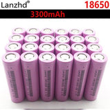 for samsung 18650 batteries 3300mah INR18650 3.7V  Rechargeable batteries Li ion lithium ion 18650 30a large current 18650VTC7 - YouCanGetGifts Store