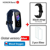 global version Optional Honor band 5 smart band AMOLED heart rate fitness sleep swimming sport blood oxygen tracker - YouCanGetGifts Store