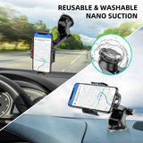 GTWIN Car Phone Holder Windshield Gravity Sucker Mobile Phone Support For iPhone Samsung Huawei Smartphone Universal Mount Stand - YouCanGetGifts Store