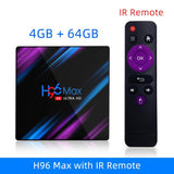 H96 MAX RK3318 Smart Android TV Box 16GB 32GB 64GB Media player 4K Wifi Netflix Set top Box Media Player Youtube Android 9.0 BOX - YouCanGetGifts Store