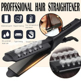Hair Straightener Steam Flat Iron Four-Gear Hair Straightening Tourmaline Ceramic Professional Hair Straightener Styling Tool - YouCanGetGifts Store
