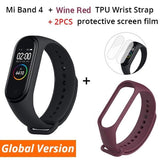 In Stock ! 2019 New Xiaomi Mi Band 4 Smart Color Screen Bracelet Heart Rate Fitness 135mAh Bluetooth 5.0 Waterproof Smart Watch - YouCanGetGifts Store