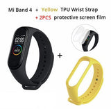 In Stock Original Xiaomi Mi Band 4 Smart Miband 4 Color Screen Bracelet Heart Rate Fitness Tracker Bluetooth5.0 Waterproof Band4 - YouCanGetGifts Store