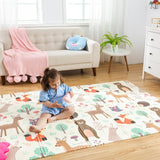 Infant Shining Baby Play Mat Xpe Puzzle Children's Mat Thickened Tapete Infantil Baby Room Crawling Pad Folding Mat Baby Carpet - YouCanGetGifts Store