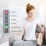 Infrared Heating Neck Shoulder Back Body Electric Massage Pillow Shiatsu Massager Device Cervical Healthy Massageador Relaxation - YouCanGetGifts Store