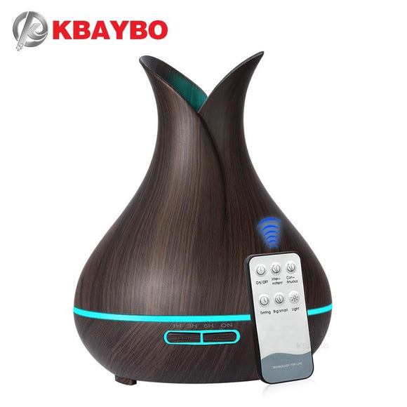 Kbaybo Electric Ultrasonic Aroma Air Humidifier Essential Oil Diffuser Purifier Mist Maker For Home - YouCanGetGifts Store
