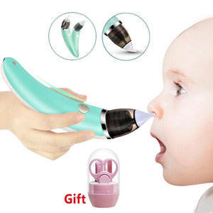 Kid Baby baby Nasal Aspirator Electric Nose Cleaner Newborn baby sucker cleaner Sniffling Equipment Safe Hygienic Nose aspirator - YouCanGetGifts Store