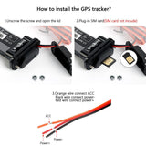 Mini Waterproof Builtin Battery GSM GPS tracker ST-901 for Car motorcycle vehicle 3G WCDMA device with online tracking software - YouCanGetGifts Store