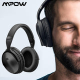Mpow H5 2nd 2Gen Wireless Bluetooth Headphones ANC Active Noise Cancelling Headphone With Carrying Bag For Huawei P30 Iphone XR - YouCanGetGifts Store