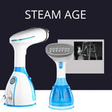 New 280ml Handheld Fabric Steamer 15 Seconds Fast-Heat 1500W Powerful Garment Steamer for Home Travelling Portable Steam Iron - YouCanGetGifts Store