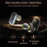 Original SYLLABLE S101 bluetooth V5.0 bass earphones wireless headset noise reduction SYLLABLE S101 Volume control earbuds - YouCanGetGifts Store