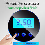 Portable Car Air Compressor DC 12V Digital Tire Inflator Air Pump 150 PSI Auto Air Pump for Car Motorcycle LED Light Tire Pump - YouCanGetGifts Store