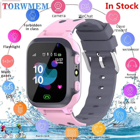 Q15 Kids Smart Watch kids call for children SOS Antil-lost Waterproof Smartwatch Baby 2G SIM Card Clock Location Tracker watches - YouCanGetGifts Store