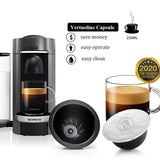 Reusable Coffee Capsules, Stainless Steel Refillable Vertuo Pods Compatible with Nespresso Vertuoline GCA1 and Delonghi ENV135 - YouCanGetGifts Store