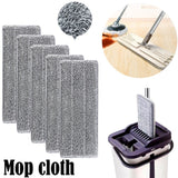 Spray Floor Mop Pad With Reusable Microfiber Mop Head For Home Kitchen Laminate Wood Ceramic Tiles Floor Cleaning 1/2/5/10PC #15 - YouCanGetGifts Store