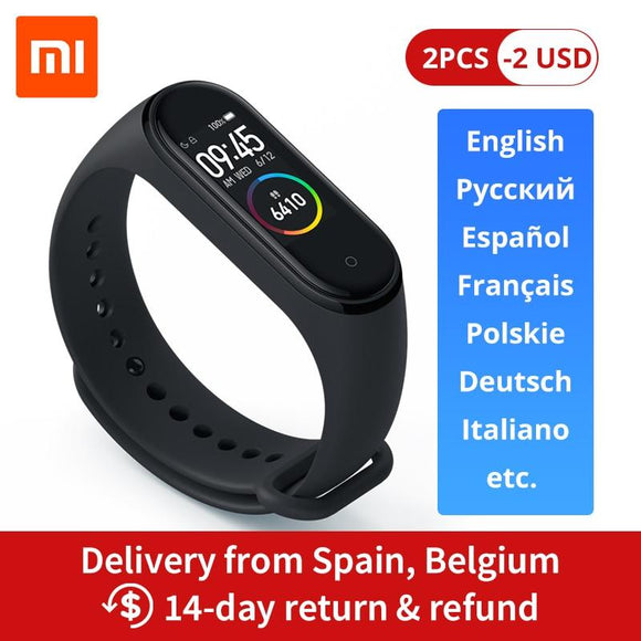 Xiaomi Mi Band 4 Smart Band 0.95inch AMOLED 120X240 Full Color Screen Bluetooth 5.0 - YouCanGetGifts Store