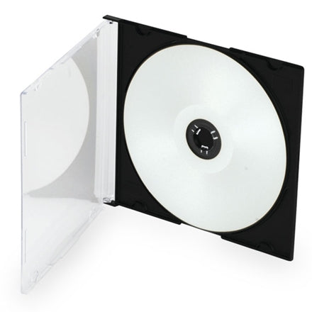 CD Slim Single Disc Jewel Case (Black)
