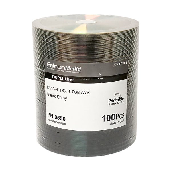 Falcon Media Premium 16x Shiny Silver Thermal DVD-R