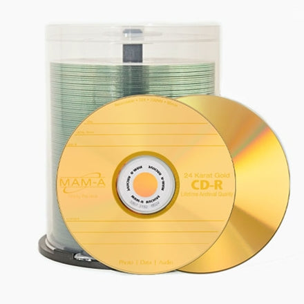 Gold CD-R - 700mb CD-R Logo 45975