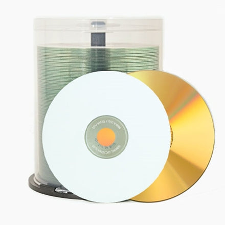 Gold DVD+R - 4.7gb White Everest 83526