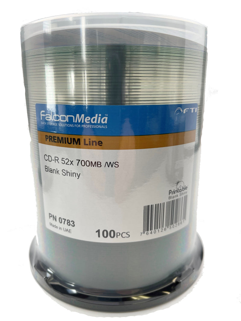 Silver CD-R - 700mb Silver Thermal 41018
