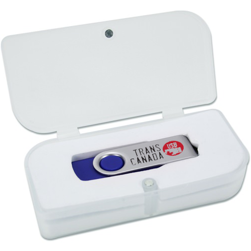 Printed USB Flash Drives w/8GB & Magnet Box