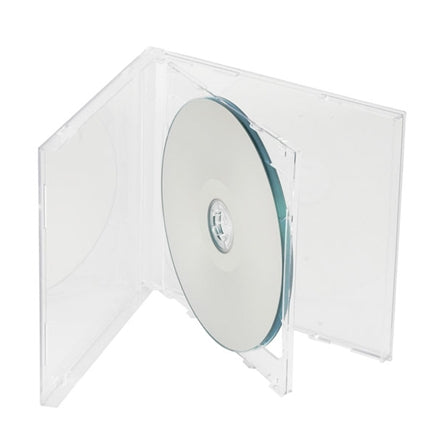 CD 2-Disc Jewel Case (Clear)