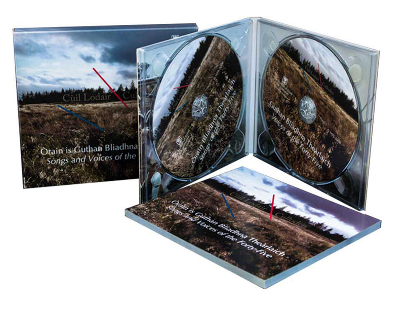 CDs in 4 Panel DigiPaks 2 Disc