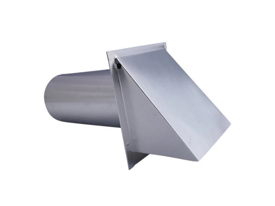 4 Inch Wall Vent (Galvanized)