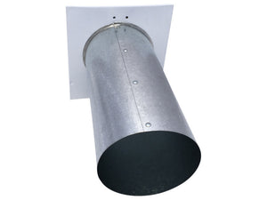 4 Inch Wall Vent (Back View)